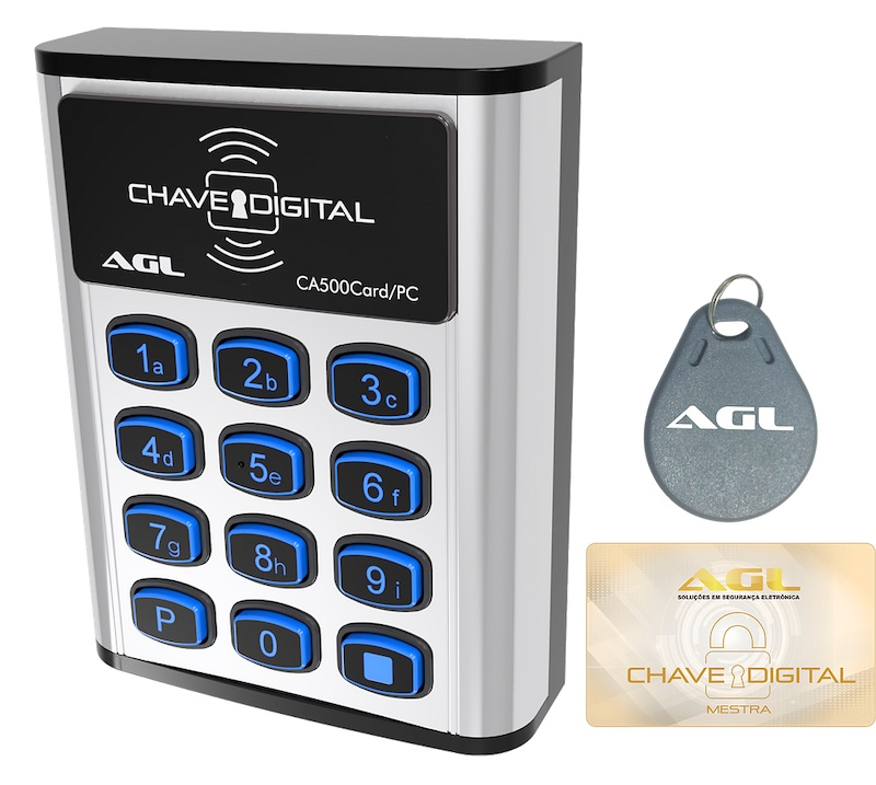 CONTROLE DE ACESSO CA500 CARD PC AGL