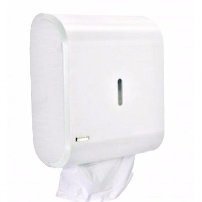 Dispenser Multiplo Papel Interfolha Ou Higiênico Branco