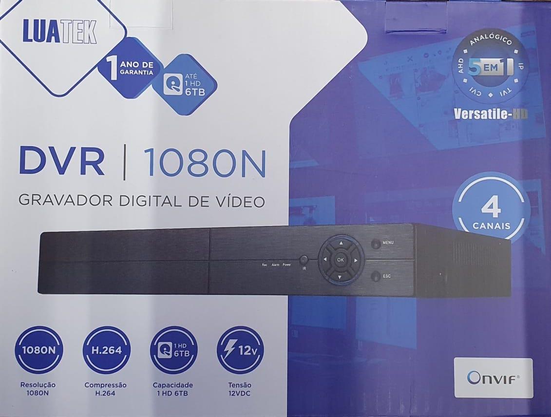DVR 4 CANAIS 5 EM 1 LKD104 LITE LUATEK