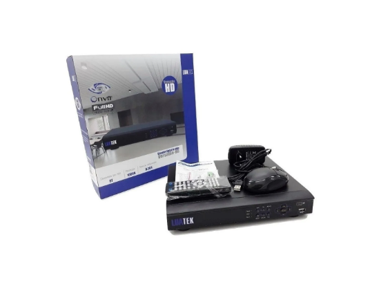 DVR 8 CANAIS H265 5MP LKD308BP LUATEK