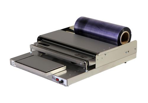 Embaladora para película de PVC esticável em bandejas de isopor Barbi