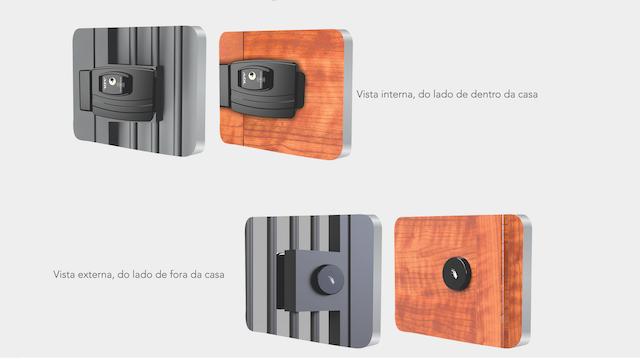 FECHADURA ELETRICA ULTRA CARD AGL