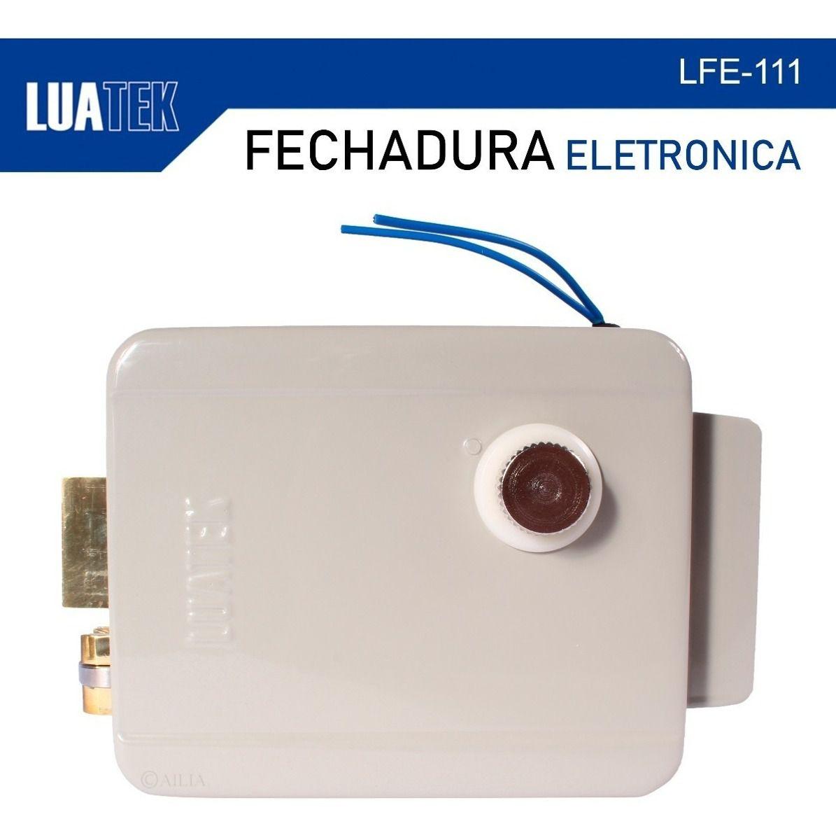 Fechadura Trava Portas E Portões Elétrica / Eletrônica 12v Luatek  - Wtech vendas e Assistência técnica