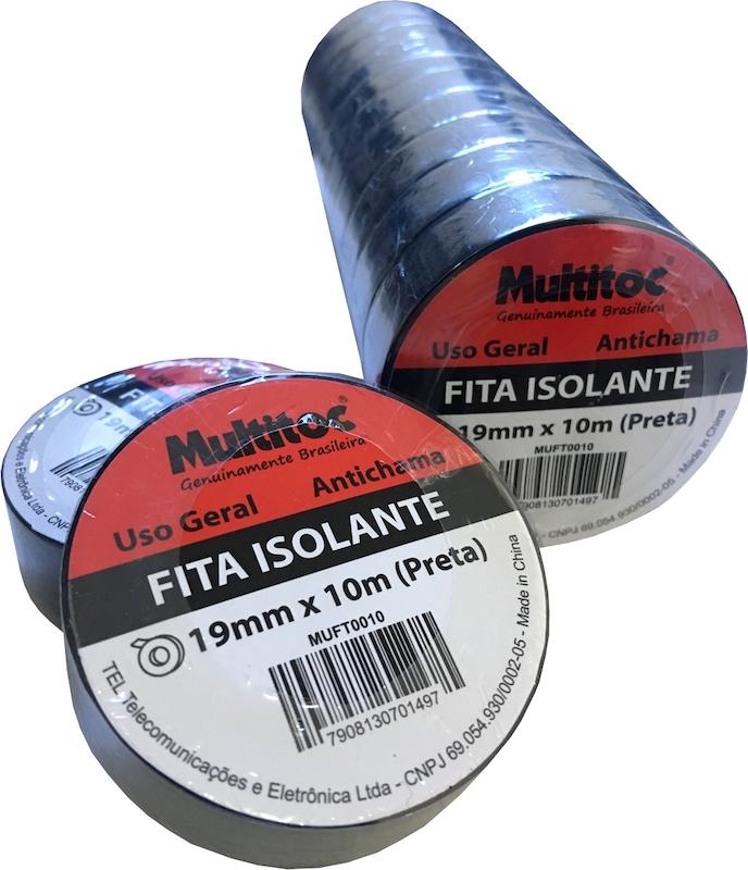 FITA ISOLANTE PVC 10 MTS