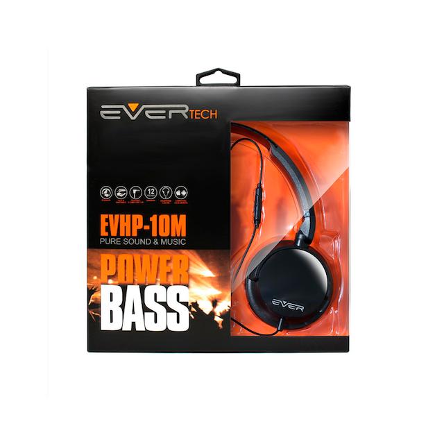 FONE HEADPHONE DJ EVERTECH EVHP-10