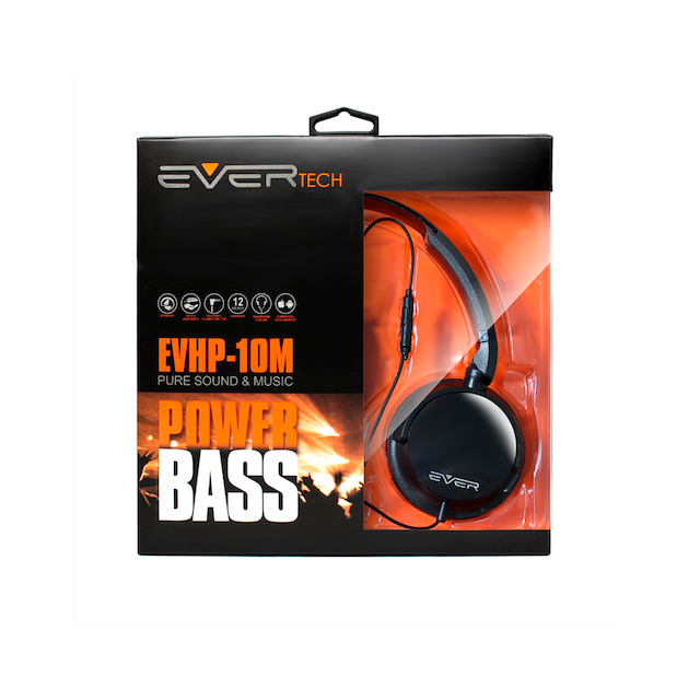 FONE HEADPHONE DJ EVERTECH EVHP-10