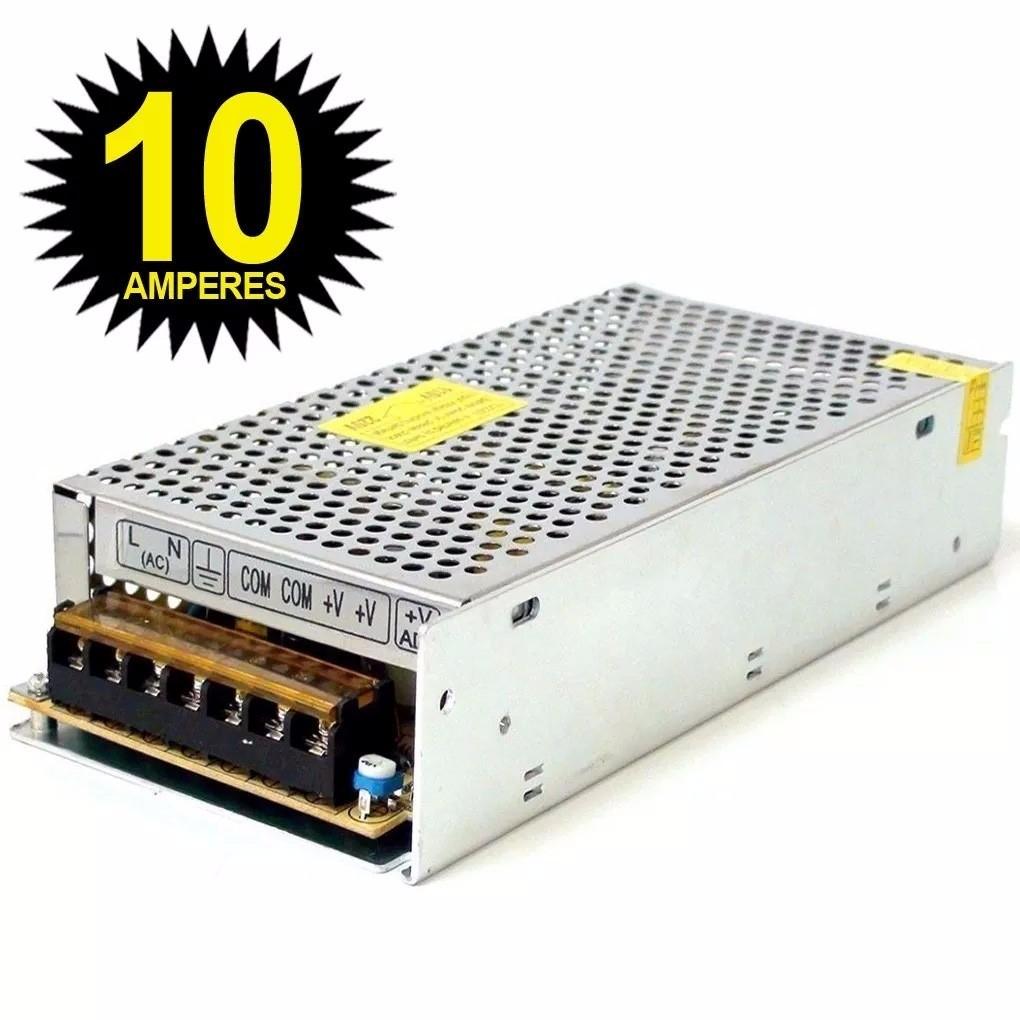 Fonte Chaveada 12V 10A 120W Luatek  - Wtech vendas e Assistência técnica