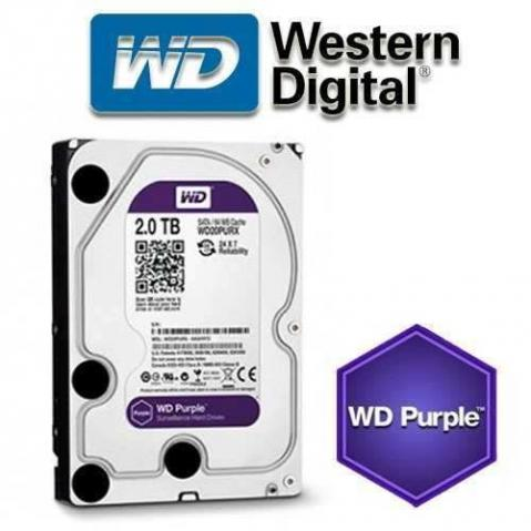 HD 2 TB PURPLE WESTERN DIGITAL