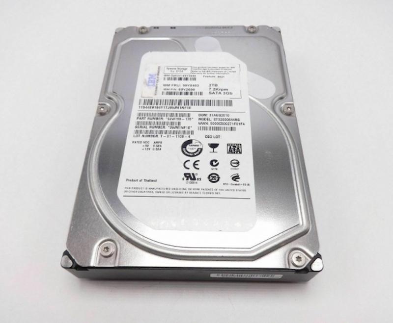 HD 2 TB SAS 7200RPM IBM