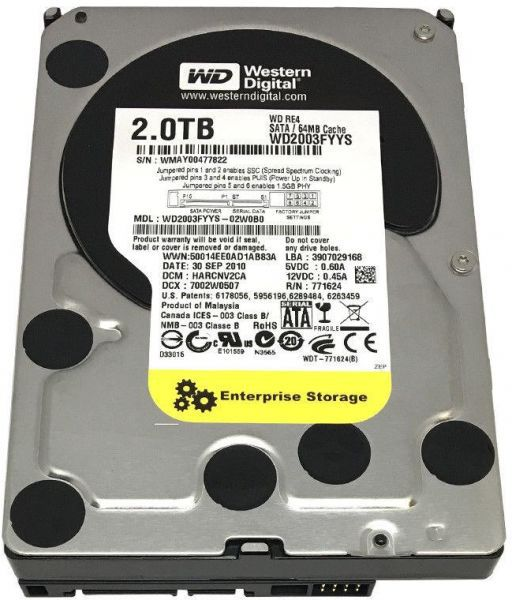 HD 2TB CAVIAR BLACK WESTERN DIGITAL