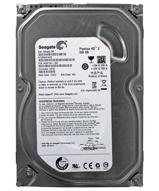 HD 500GB 3,5 SEAGATE