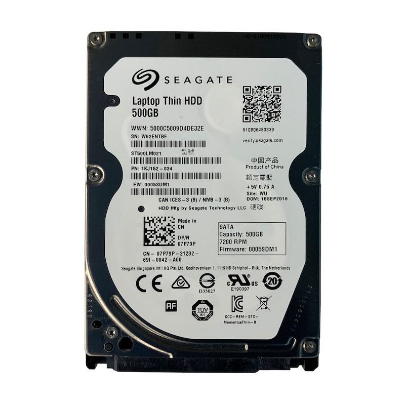 HD 500GB SEAGATE 7200rpm SLIN NOTEBOOK