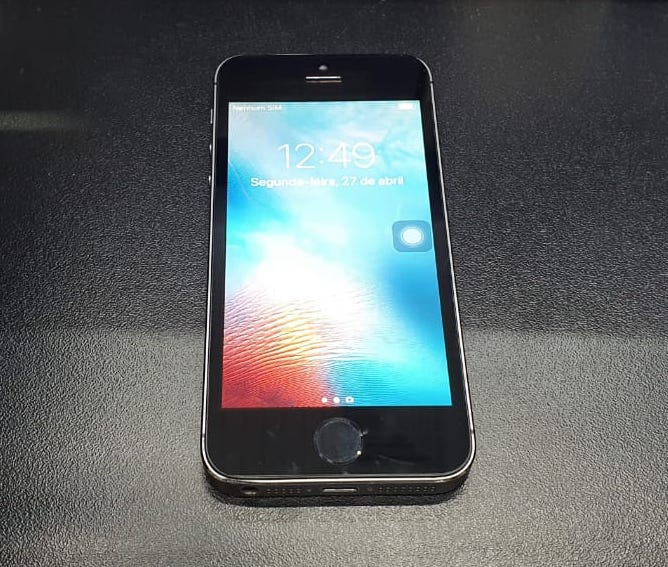 IPHONE 5 S 16GB COM BIOMETRIA USADO