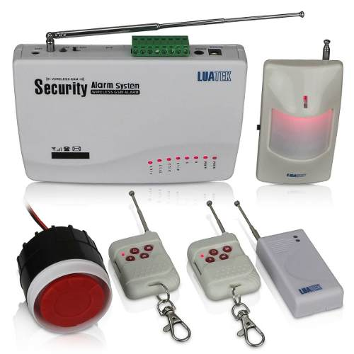 Kit De Alarme Residencial Gsm Sistema Wireless Sms Luatek  - Wtech vendas e Assistência técnica