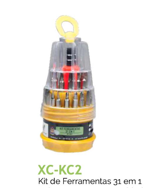KIT DE FERRAMENTAS 31 IN 1 CELULAR XC-KC2 XCELL
