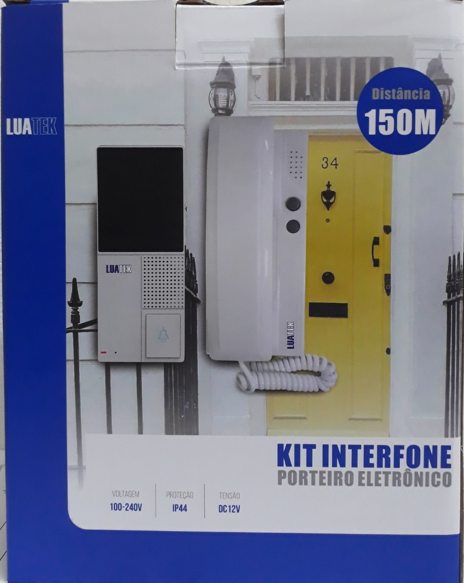 KIT INTERFONE LKM3009 LUATEK