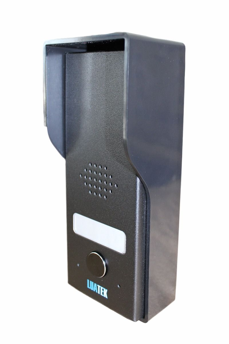Kit Interfone Porteiro Eletrônico Residencial Casa Monofone Luatek