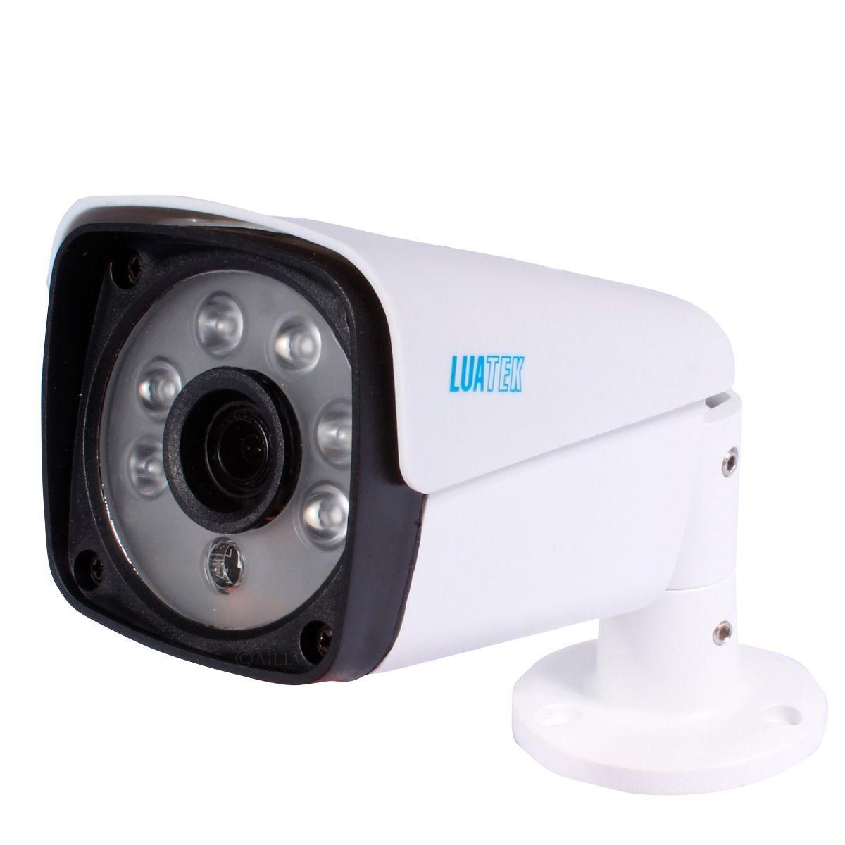 Kit Nvr Com 4 Cameras Ip Bullet Poe 2mp (1080p) 3.6mm Luatek  - Wtech vendas e Assistência técnica