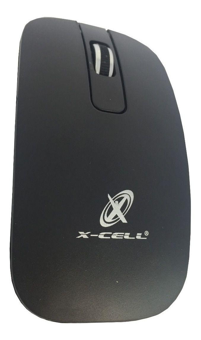 KIT TECLADO E MOUSE SEM FIO X-CELL XC-CB-02