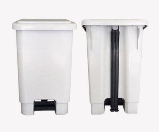 Lixeira Plastica Retangular Com Pedal 25