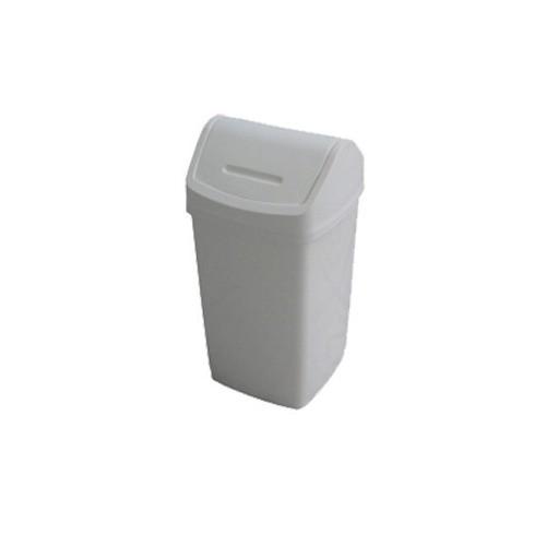 Lixeira Reciclagem Coleta Seletiva 50L Tampa Vai e Vem