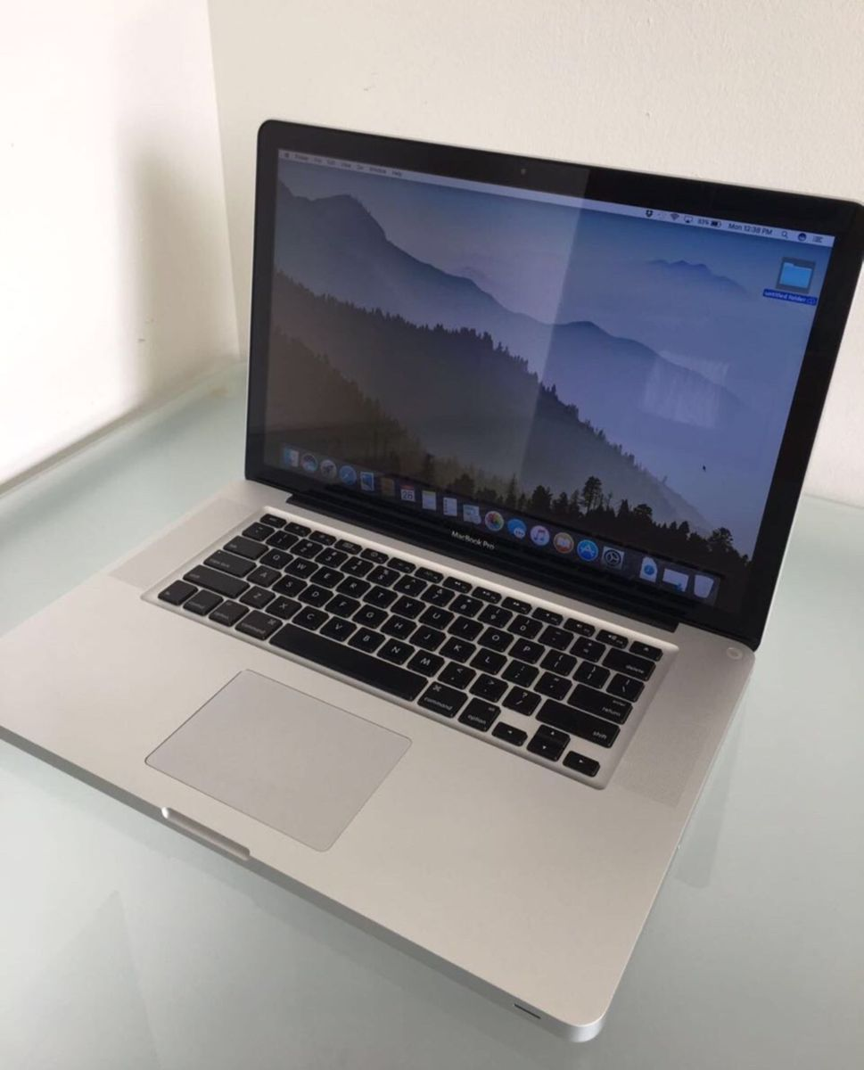 MACBOOK PRO 15 POLEGADAS I7 8GB RAM HD SSD 250GB USADO