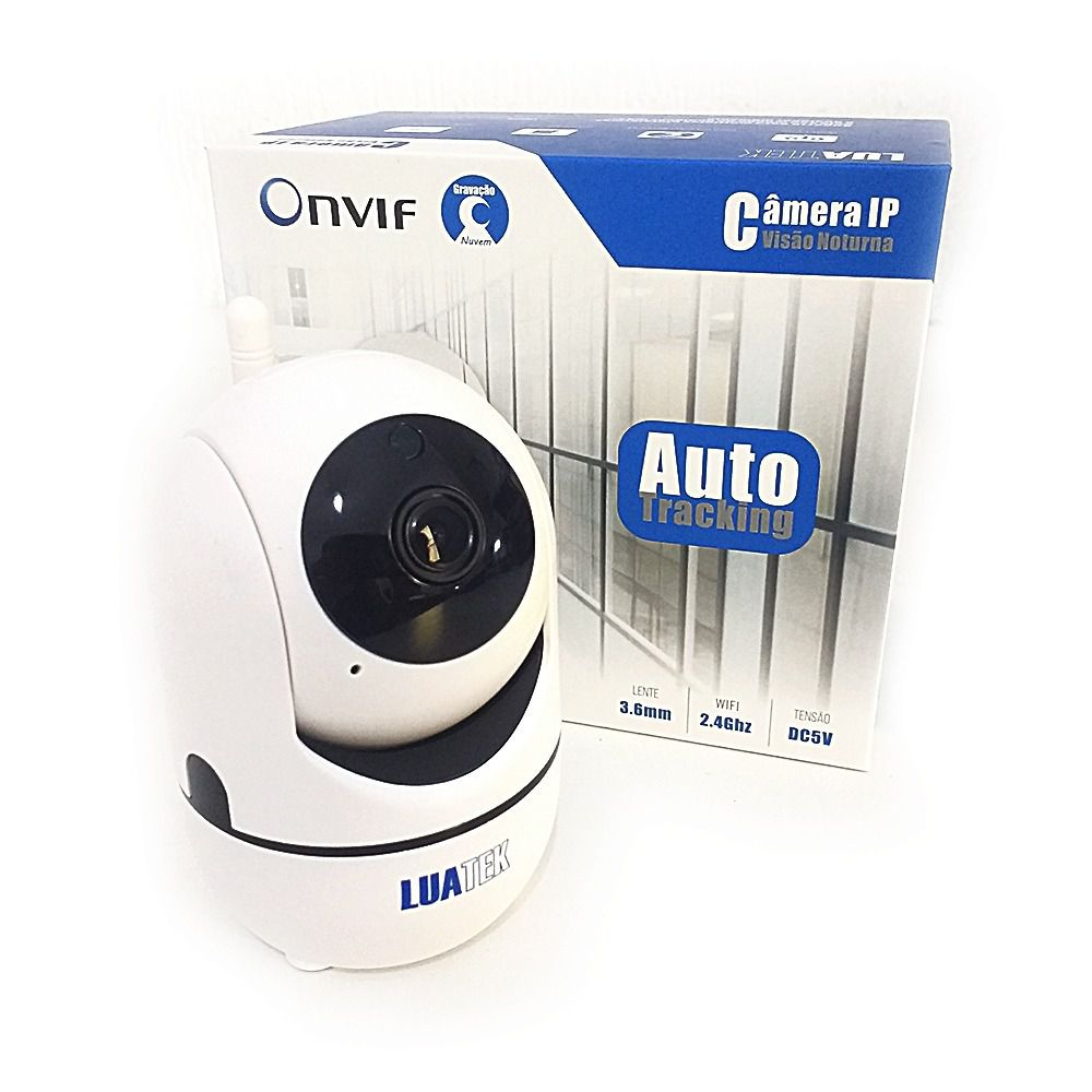 Mini Camera Ip Wifi Hd Onvif Sensor Movimento Automatico Luatek