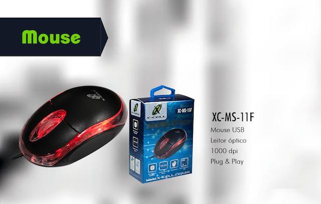 MOUSE COM FIO XC-MS-11 X-CELL