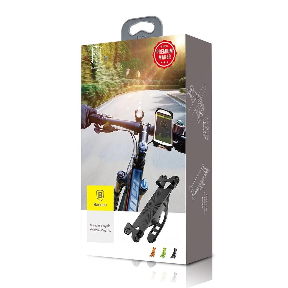 Suporte de Bicicleta e Moto Para Celular Baseus  - Wtech vendas e Assistência técnica