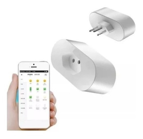 TOMADA INTELIGENTE SMART WIFI LUATEK