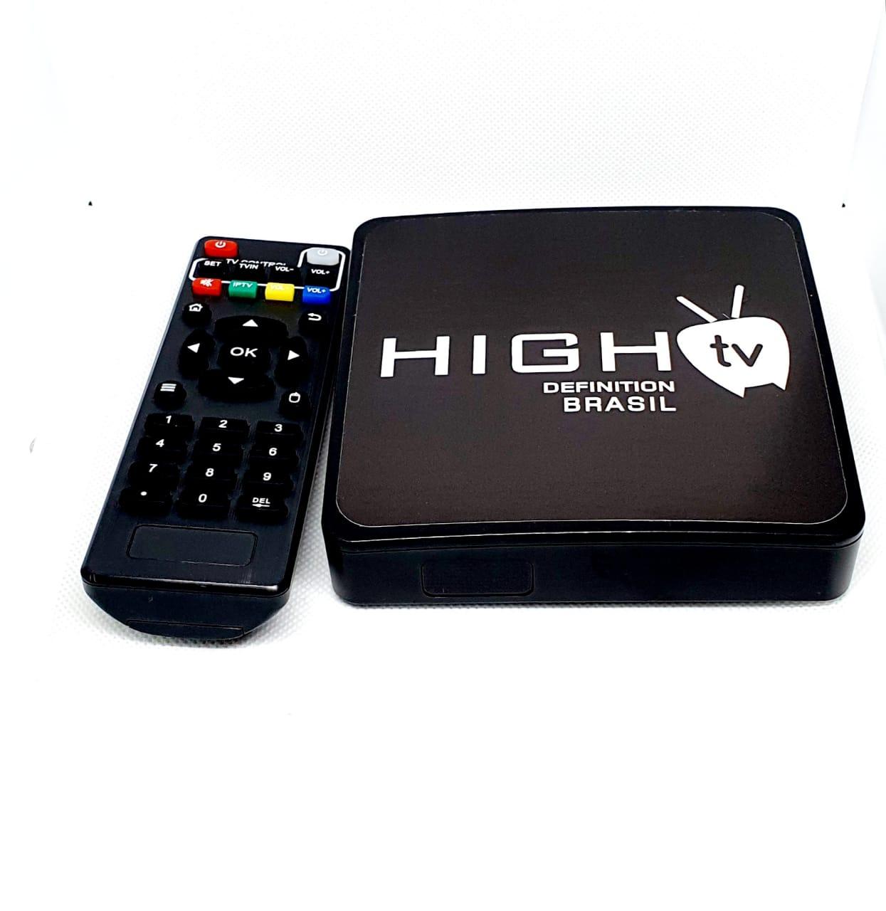 TV BOX NEW HIGHTV BRASIL 12 MESES