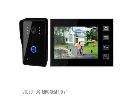 Vídeo Porteiro sem fio com visão noturna LKM-1103