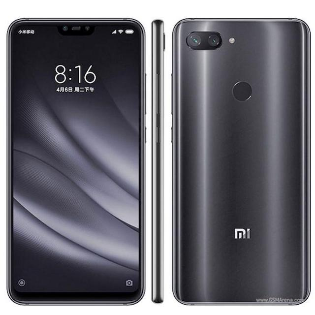 XIAOMI Mi 8 LITE DUAL SIM 64 GB 4 GB RAM MIDNIGHT BLACK