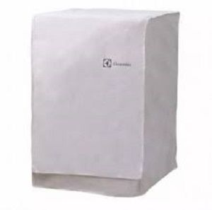 Capa Lavadora Electrolux LSI09 Frontal Cor Branca