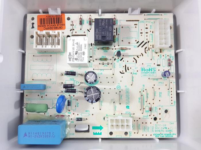 CONTROLE ELETRONICO CJ 240V - W10314905-BVE28FB-BVE28FR: