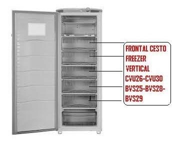 FRONTAL CESTO FREEZER VERTICAL CVU26-CVU30-BVS25-BVS28-BVS29