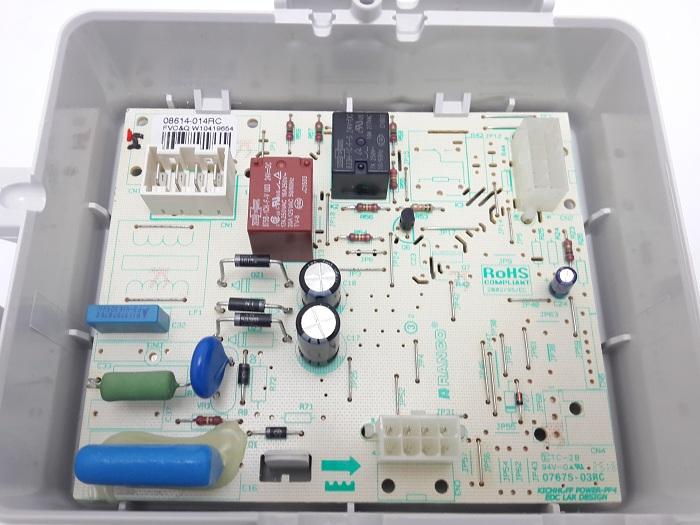 Kit Placa Controle E Interface Freezer Bvr28gr,bvr28gb-127v