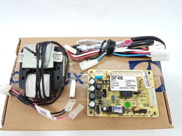 Kit Placa Refrigerador Electrolux Df46 Df49 Original 127v