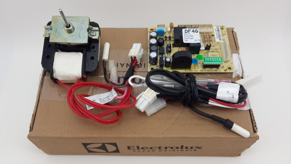 Kit Placa Refrigerador Electrolux Df46 Df49 Original 220v