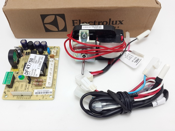 Kit Placa Refrigerador Electrolux Df47 Df50 Df50x 220v Origi