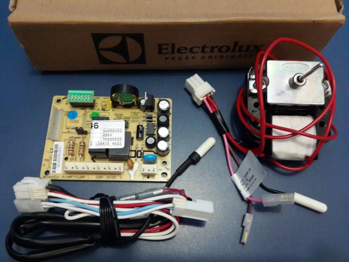 KIT PLACA SENSOR REFRIGERADOR ELECTROLUX 127V DF46 - DF49