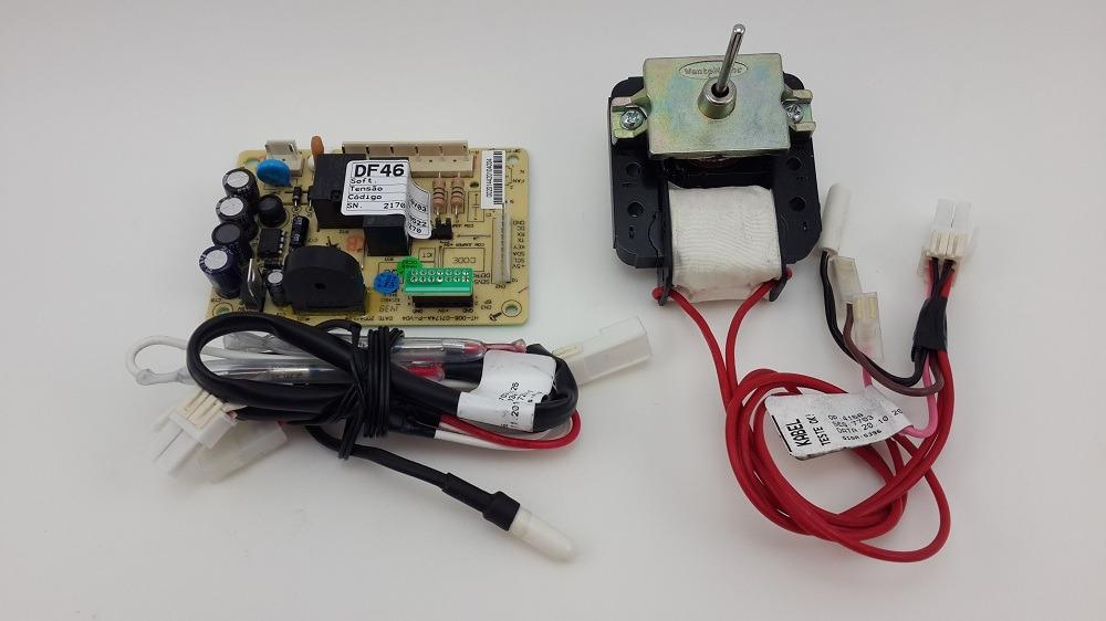 KIT PLACA SENSOR REFRIGERADOR ELECTROLUX 220V DF46 - DF49