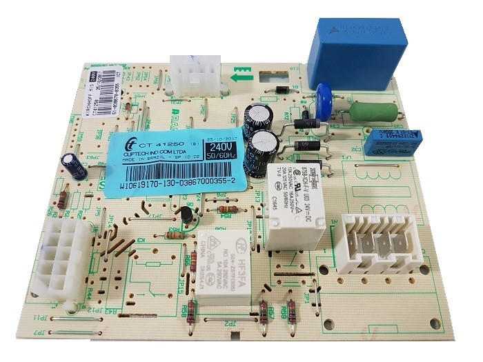 Placa Controle Freezer Brastemp Bvr28gr Bvr28gb Bvr28fb-220v