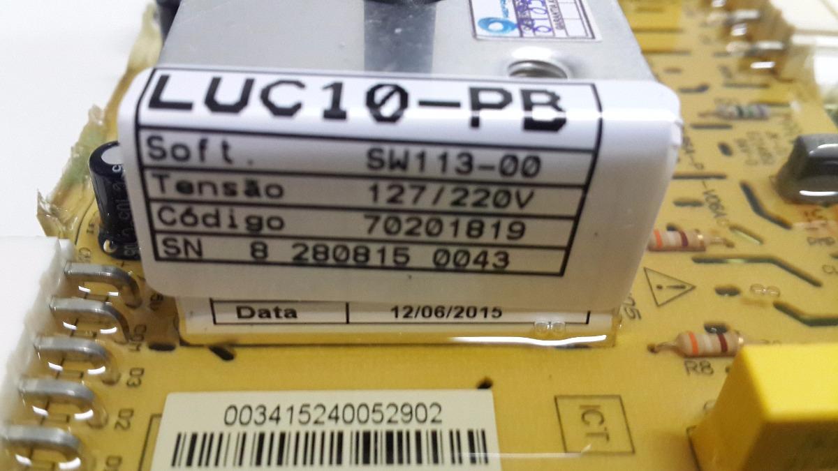 PLACA DE POTENCIA LAVADORA ELECTROLUX LUC10