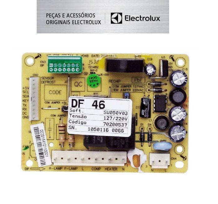 PLACA DE POTENCIA REFRIGERADOR ELECTROLUX DF46 - DF49