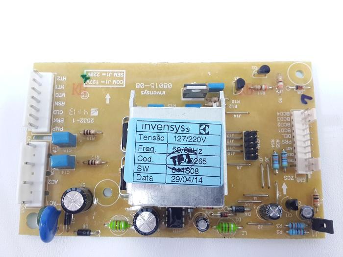 Placa Eletrônica Lavadora Electrolux Lt12 Cód 64800265 Bivol