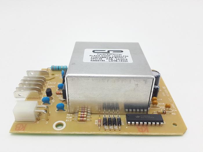 Placa Lavadora Electrolux Lm06 Lf80 Bivolt Compativel Cp13