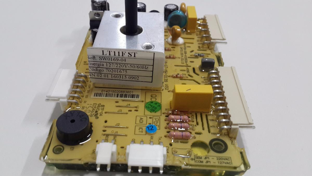 PLACA LAVADORA ELECTROLUX -LT11F