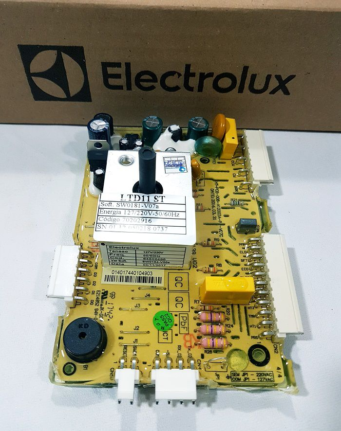 Placa Lavadora Electrolux Ltd11 Original 127/220v