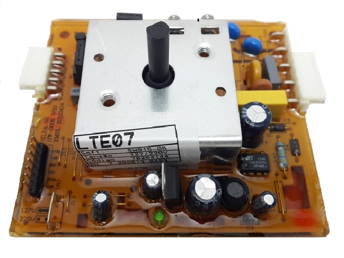 Placa Lavadora Electrolux Lte07 Original Bivolt 70202144